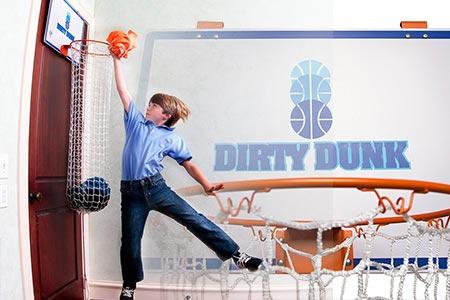 Basketball Hoop Laundry Hamper