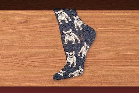 Frenchie Socks