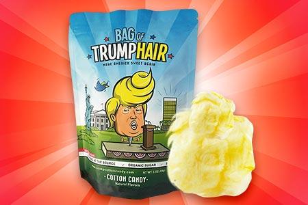 Cotton Candy Trump Hair