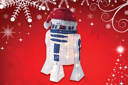 R2D2 Tree Decoration