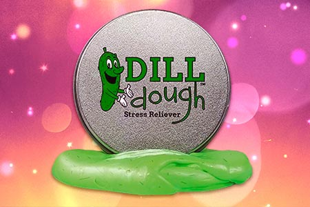 Dill Dough Stress Reliever Putty