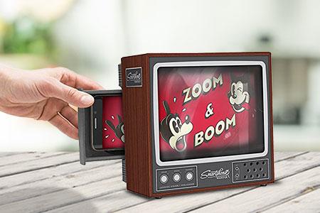 Smartphone TV Screen Magnifier