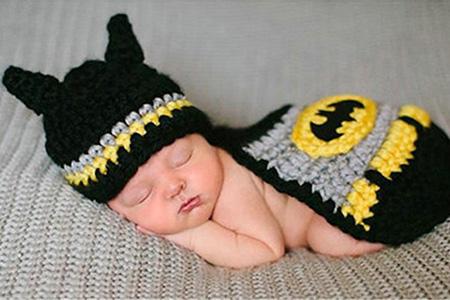 Baby Batman Cape