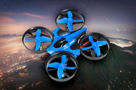 Mini Blue Drone