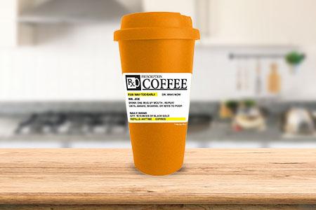 Prescription Coffee Travel Mug