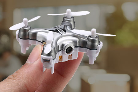 Drone with 360 Degree Video Wifi Camera