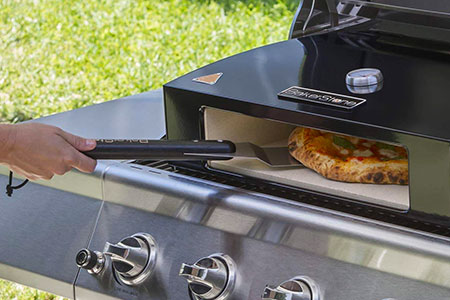 BBQ Mount Pizza Oven