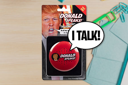Trump Talking Button