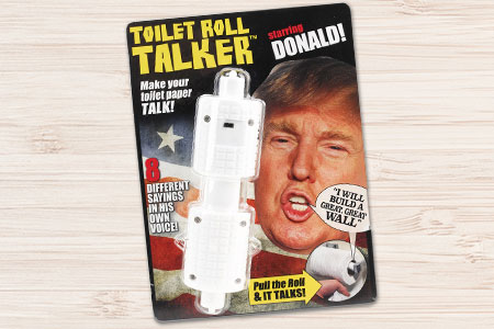 Trump Toilet Roll Taker