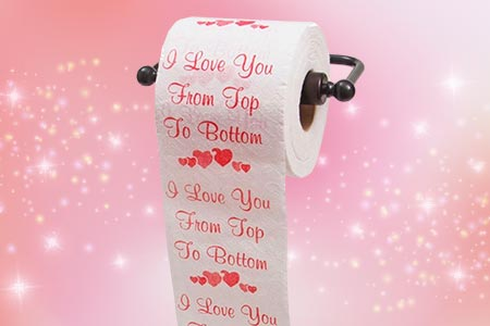Romantic Toilet Paper