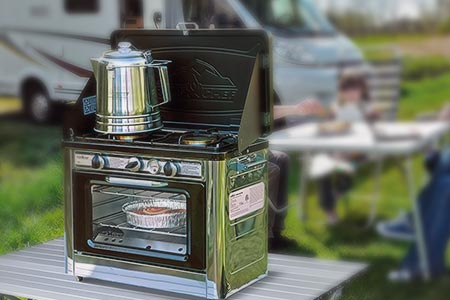 Camping Oven With Stove