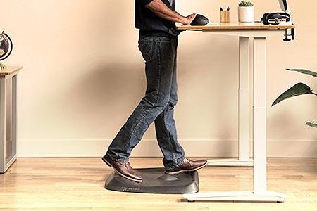 Not-So-Flat Standing Desk Mat