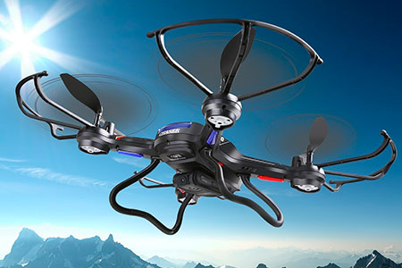 Drone with HD Camera and One Key Return Home