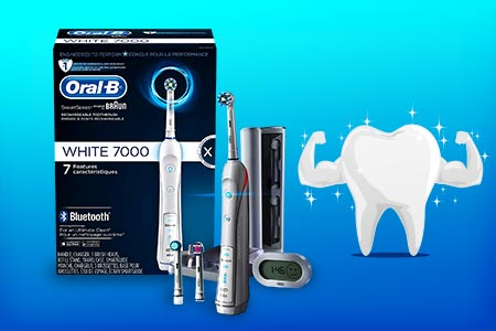 Oral-B Electric Toothbrush With Bluetooth Connection