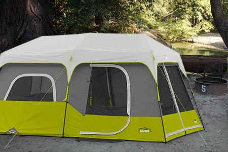Luxury Two-Room Tent
