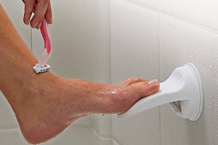 Shower Shaving Foot Rest