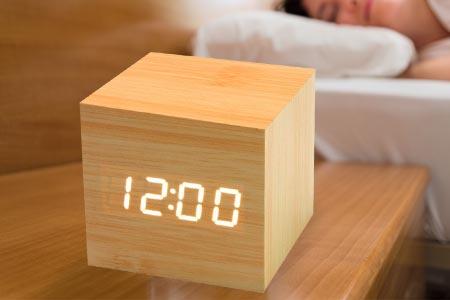 Clock Cube Alarm Clock