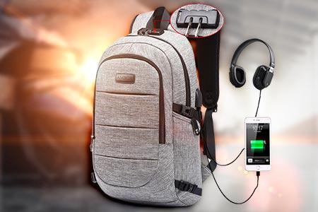 Anti Theft Waterproof Travel Backpack