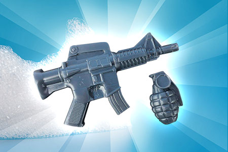 AR15 and Grenade Soap Gift Set