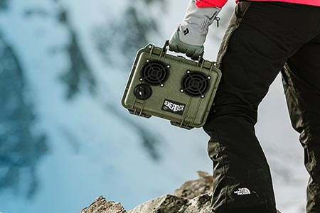 DemerBox Rugged Bluetooth Speaker