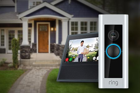 Echo Spot Ring Video Doorbell Pro