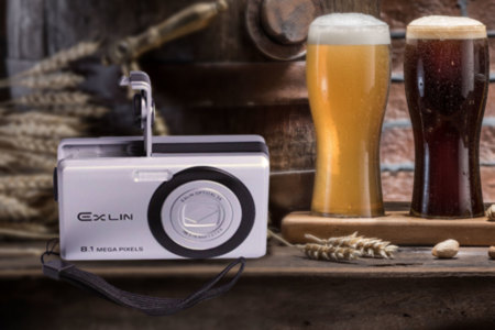 Digital Camera Flask