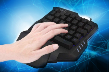 One-Handed Gaming Keyboard