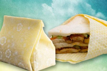 Eco Friendly, Reusable Food Wrap