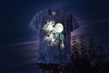 Three Wolves and a Moon Shirt