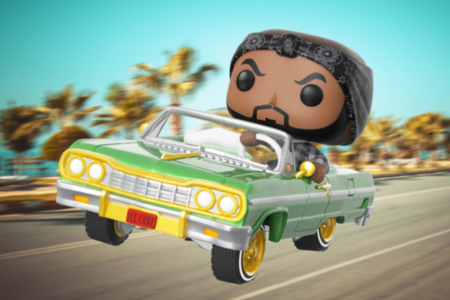 Ice Cube Riding In His 64 Impala Mini Figure