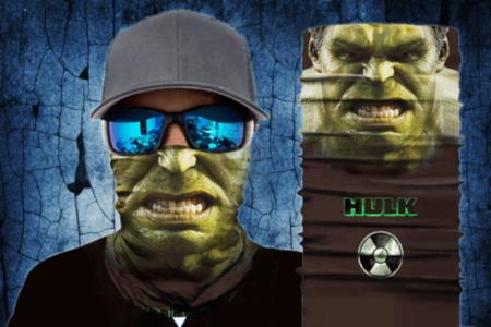 Hulk Face Mask