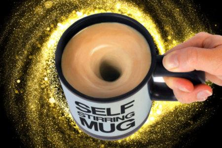 Self- Stirring Coffee Mug
