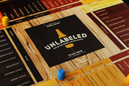 Unlabelled Beer Board Game