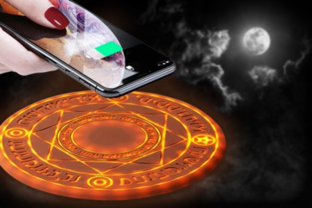 Magical Wireless Charging Station