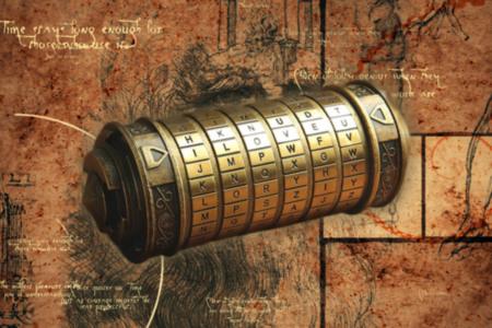 Da Vinci Code-Style Mini-Cryptex