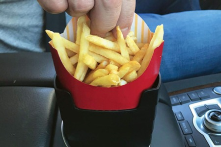 Travel French Fry Holder