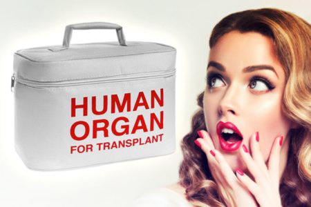 Emergency Organ Transplant Lunch Bag