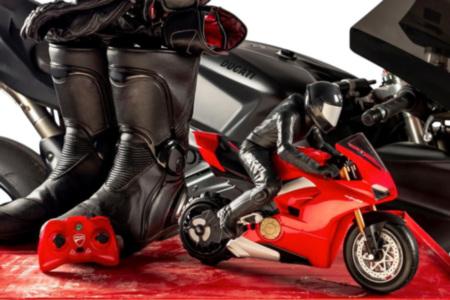 Self-Balancing RC Ducati