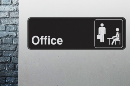 The Office Adhesive Sign