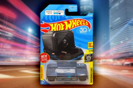 Hot Wheels GoPro on Wheels
