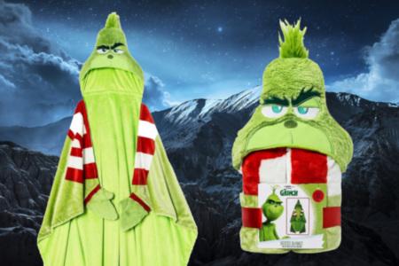Grinch Wearable Blanket