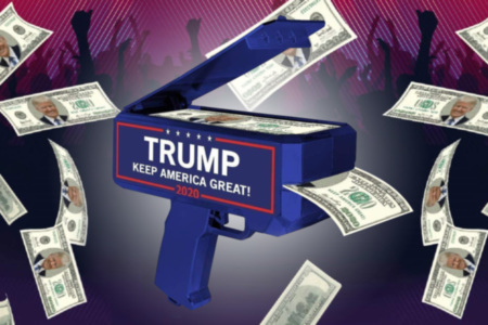 Trump Money Gun