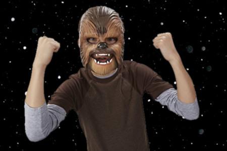 Chewbacca Roaring Mask