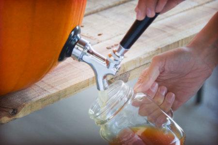 Beer Tap for Pumpkins