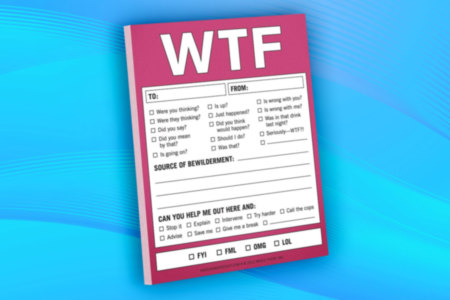 WTF Note Pad