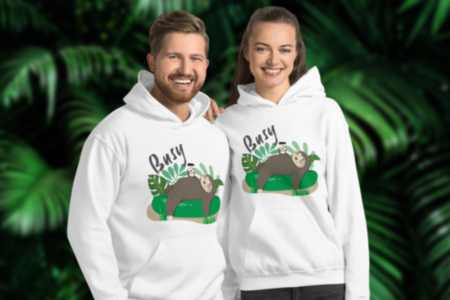 Busy Sloth Hoodie