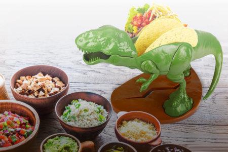 Dinosaur Taco Holder