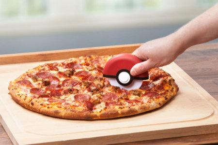 Pokeball Pizza Cutter