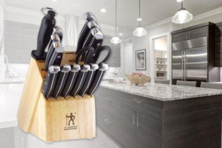 JA Henckels Knife Set