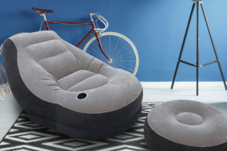 Inflatable Couch With Ottoman